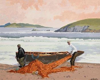 John Francis Skelton, End of the Day at Morgan O'Driscoll Art Auctions