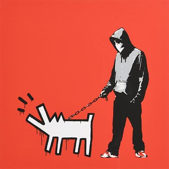 Banksy, Choose Your Weapon at Morgan O'Driscoll Art Auctions