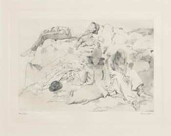 after Sir William Orpen, After Bathing at Morgan O'Driscoll Art Auctions