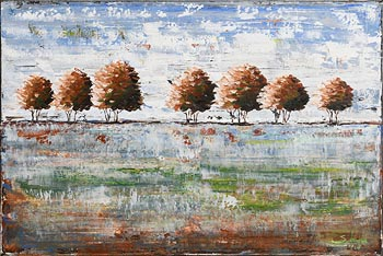 Simone Puorger, Frosty Morning (2015) at Morgan O'Driscoll Art Auctions