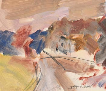 Basil Blackshaw, Entrance to Parkland at Morgan O'Driscoll Art Auctions