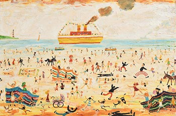 Simeon Stafford, Summer Fun at Morgan O'Driscoll Art Auctions