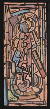 Evie Hone, Crucifixion at Morgan O'Driscoll Art Auctions