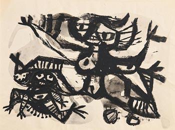 Colin Middleton, Visage at Morgan O'Driscoll Art Auctions
