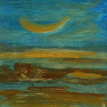 Colin Middleton, Sunrise (1970) at Morgan O'Driscoll Art Auctions