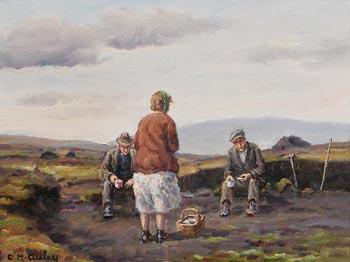 Charles J. McAuley, Aye It Takes the Tea at Morgan O'Driscoll Art Auctions