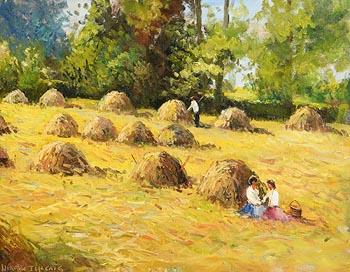 Norman J. McCaig, Lunch Break at Morgan O'Driscoll Art Auctions