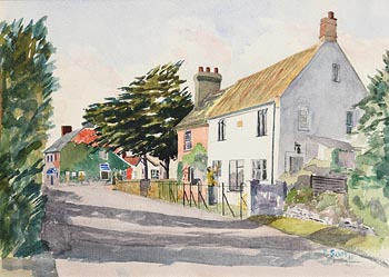 Patrick Swift, Country Village Scene at Morgan O'Driscoll Art Auctions
