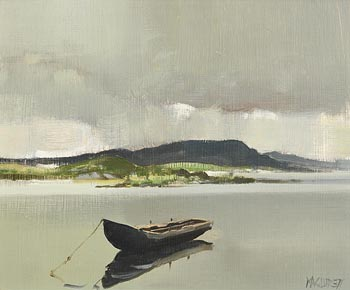 Cecil Maguire, Curragh in Ballyconneely, Connemara at Morgan O'Driscoll Art Auctions