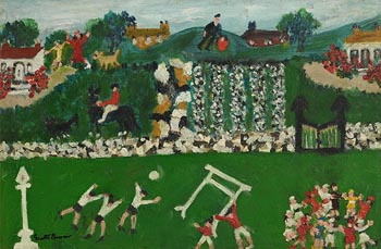 Gretta Bowen, Saturday in the Country at Morgan O'Driscoll Art Auctions