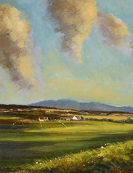 Norman J. McCaig, Ballycastle Hills at Morgan O'Driscoll Art Auctions