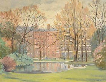 David Hone, St. Stephen's Green at Morgan O'Driscoll Art Auctions