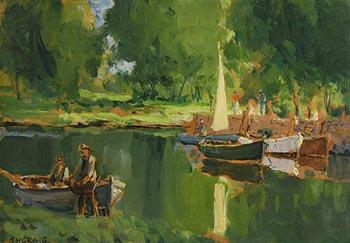 James Humbert Craig, A Summer Day on the Bann at Morgan O'Driscoll Art Auctions