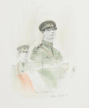 William Harrington, Michael Collins (1997) at Morgan O'Driscoll Art Auctions