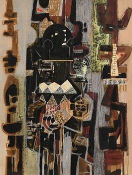 George Campbell, Africana No.14 at Morgan O'Driscoll Art Auctions