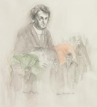 William Harrington, Terence MacSwiney (1997) at Morgan O'Driscoll Art Auctions