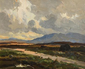 Maurice Canning Wilks, Evening, Lackagh, Co. Donegal at Morgan O'Driscoll Art Auctions