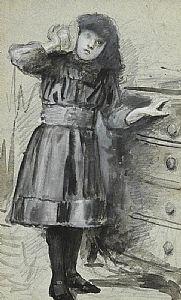 John Butler Yeats, Young Girl with Sea Shell at Morgan O'Driscoll Art Auctions