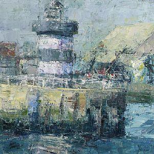 Aidan Bradley, Howth Head Lighthouse (2011) at Morgan O'Driscoll Art Auctions