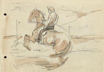 Jack Butler Yeats, The Start at Morgan O'Driscoll Art Auctions