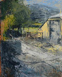 Donald Teskey, Farmyard at Morgan O'Driscoll Art Auctions