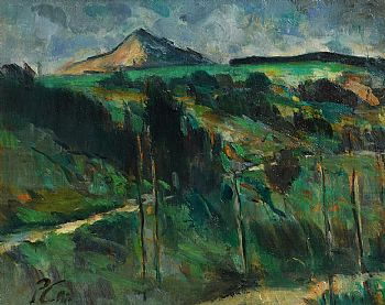 Peter Collis, The Sugarloaf, Co. Wicklow at Morgan O'Driscoll Art Auctions