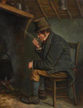 Charles Henry Cook, Peaceful Moment at Morgan O'Driscoll Art Auctions