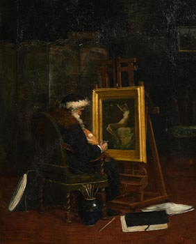 19th Century English School, Artist in His Studio at Morgan O'Driscoll Art Auctions