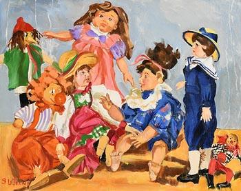 Sara H. Le Jeune, Puppets at Morgan O'Driscoll Art Auctions