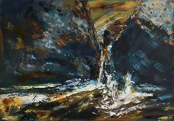 Henry Morgan, Waterfall (2019) at Morgan O'Driscoll Art Auctions