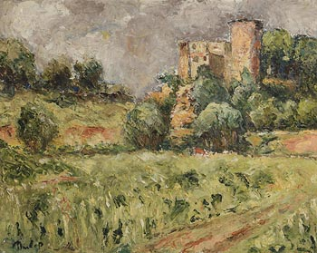 Ronald Ossory Dunlop, A Castle in Limerick at Morgan O'Driscoll Art Auctions