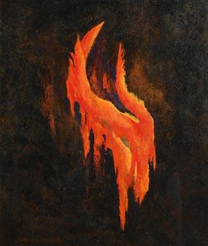 Carmel Mooney, Fire Flow at Etna at Morgan O'Driscoll Art Auctions
