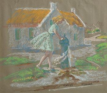 Patrick Leonard, Rush (1988) at Morgan O'Driscoll Art Auctions