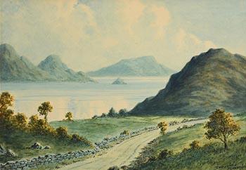 Douglas Alexander, Caragh Lake, Killarney at Morgan O'Driscoll Art Auctions