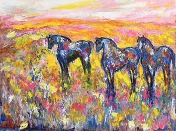 Declan O'Connor, Three Sisters at Morgan O'Driscoll Art Auctions