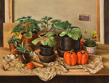 Therese McAllister, Potting Shed at Morgan O'Driscoll Art Auctions