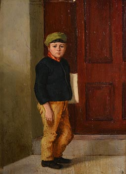 Howard Helmick, Newsboy at Morgan O'Driscoll Art Auctions