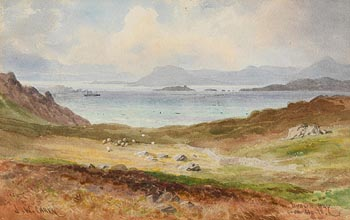 Joseph William Carey, Dublin Bay from Howth (1925) at Morgan O'Driscoll Art Auctions