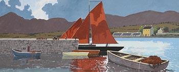 John Francis Skelton, Moon Shine, Cu na Mara, Galway at Morgan O'Driscoll Art Auctions