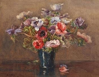 Lady Kate Dobbin, Anemones at Morgan O'Driscoll Art Auctions