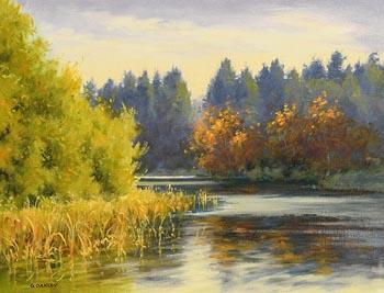 George Oakley, Autumn Evening, Donadea at Morgan O'Driscoll Art Auctions