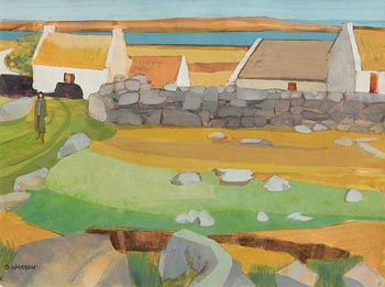 Barbara Warren, Autumn Sun (1955) at Morgan O'Driscoll Art Auctions