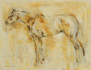 Basil Blackshaw, Standing Proud at Morgan O'Driscoll Art Auctions
