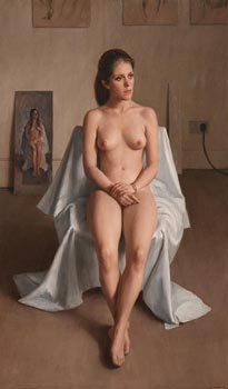 Harry Holland, Emily (Nude), 2001 at Morgan O'Driscoll Art Auctions