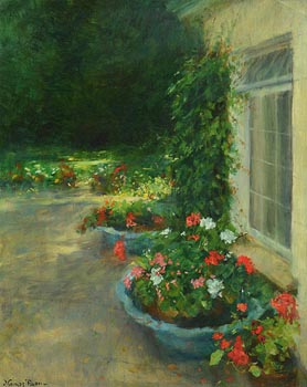 Thomas Ryan, The Artist's Garden at Morgan O'Driscoll Art Auctions