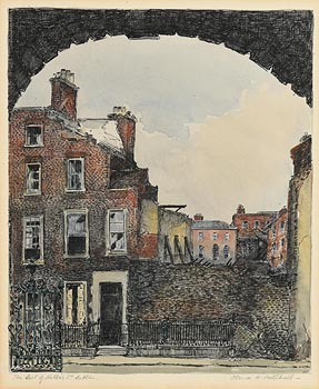Flora Mitchell, The Last of Holles Street, Dublin at Morgan O'Driscoll Art Auctions