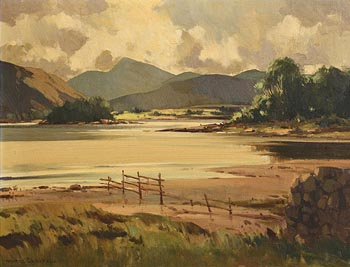 Maurice Canning Wilks, Killarney at Morgan O'Driscoll Art Auctions