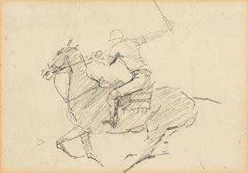 Peter Curling, Horse and Jockey at Morgan O'Driscoll Art Auctions