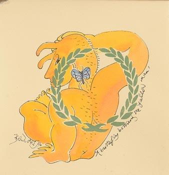 Pauline Bewick, The Yellow Man at Morgan O'Driscoll Art Auctions