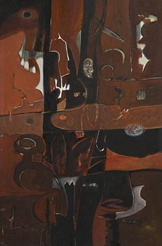 George Campbell, Spanish Composition at Morgan O'Driscoll Art Auctions